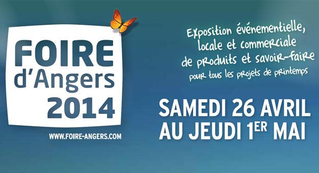 Compte rendu de la foire d'Angers en 2014
