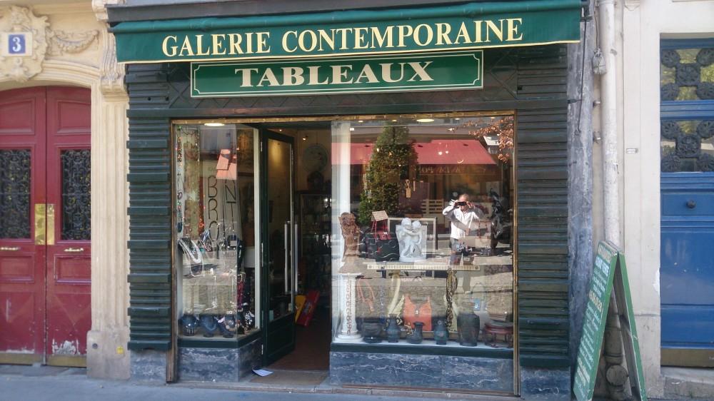 GALERIE CONTEMPORAINE devanture aout15