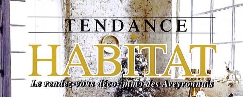 Article presse TENDANCE HABITAT décembre 2015