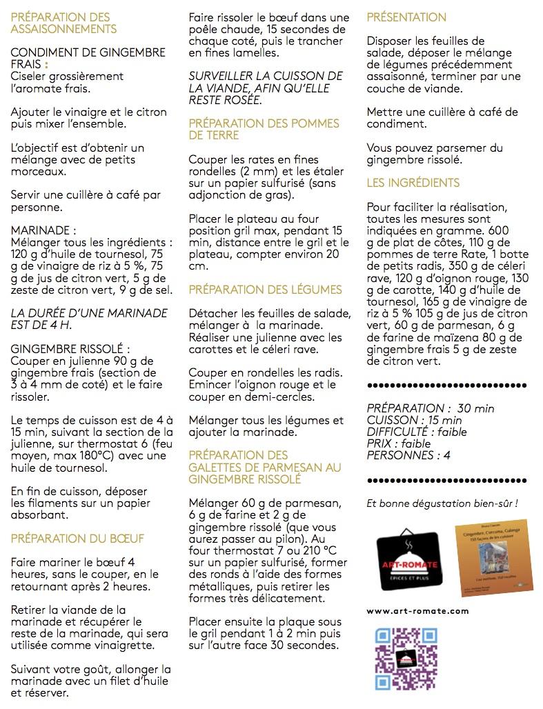GRATUIT NUMERO 1 plat de cote gingembre pages 58 59