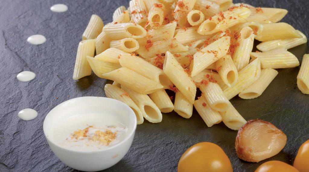 Pâtes sauce blanche et galangas